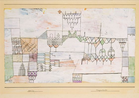 Klee, Paul: Great Hall for Singers. Fine Art Print/Poster (5005)